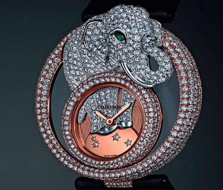 Слон по фен шуй - Cartier