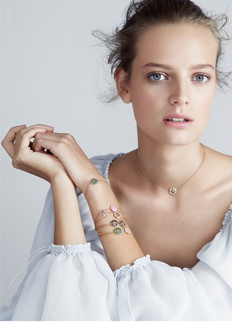 Минималистичный металл - универсальные украшения - Dior