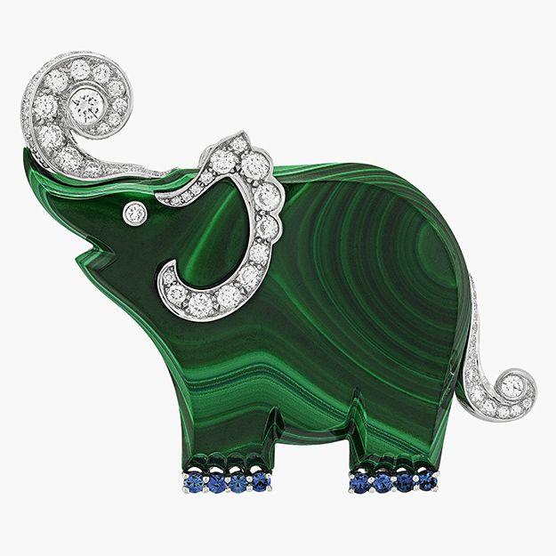 Слон по фен шуй - Van Cleef Arpels