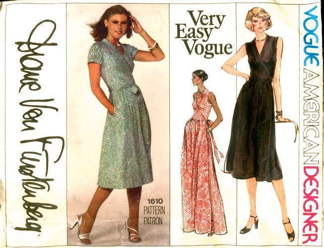 Какая одежда стройнит - Платье с запахом