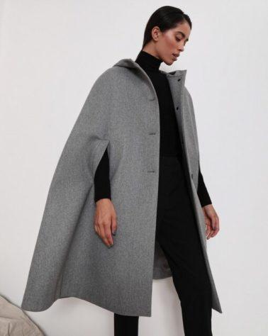 Мода 2020/2021: кардиганы, плащи, кейпы