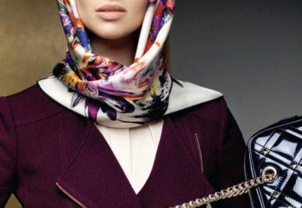 Платки и шарфы в базовом гардеробе