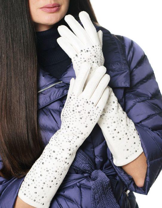 длинные и средней длины перчатки