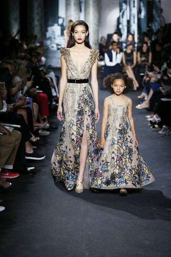Double dressing мама и дочка от Elie Saab