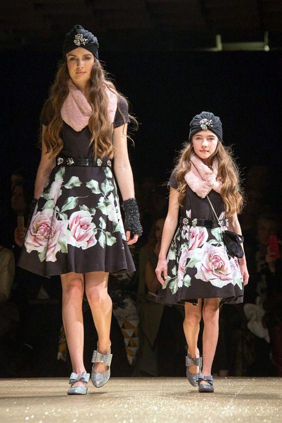 Double dressing мама и дочка от Monnalisa