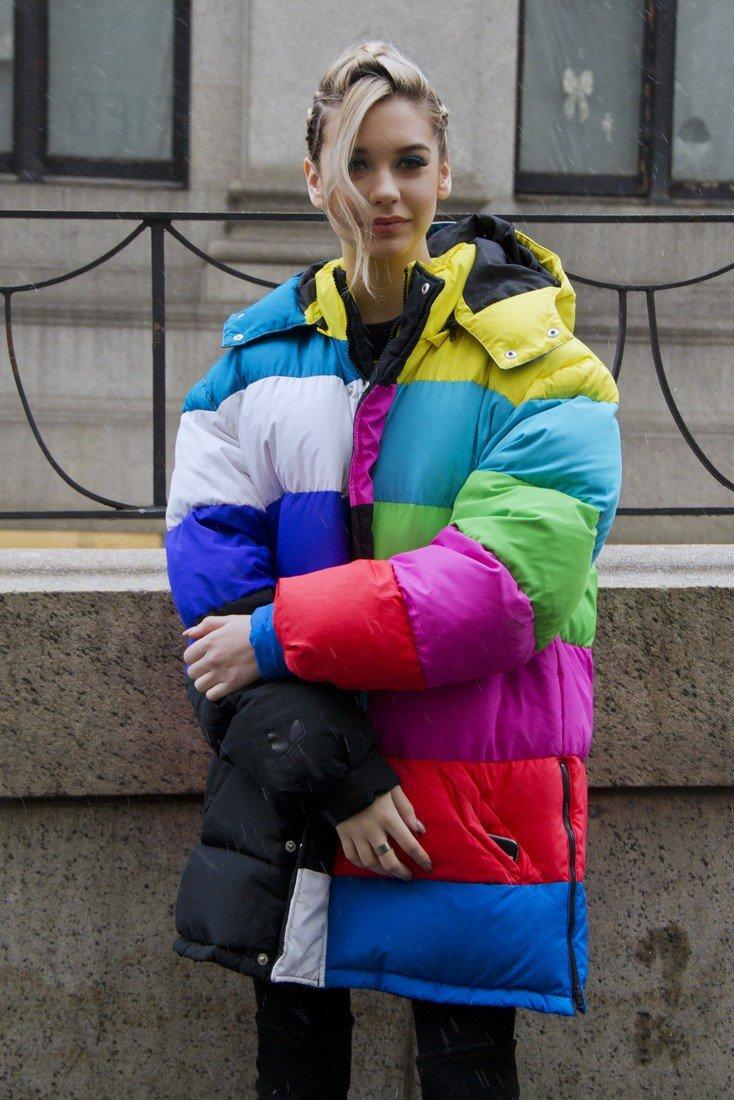 Куртки сезона осень-зима 2020/2021. Куртки колор-блок