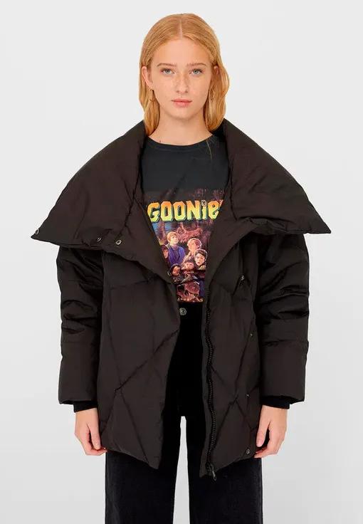 Куртки сезона осень-зима 2020/2021. Куртка с отложным воротником