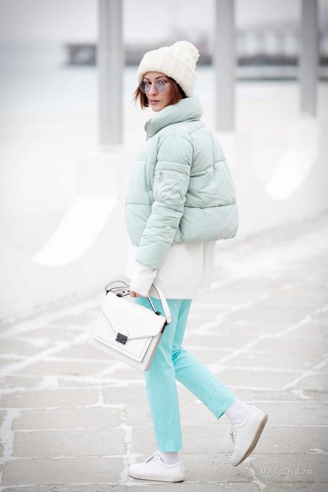 Куртки сезона осень-зима 2020/2021. Короткая дутая куртка