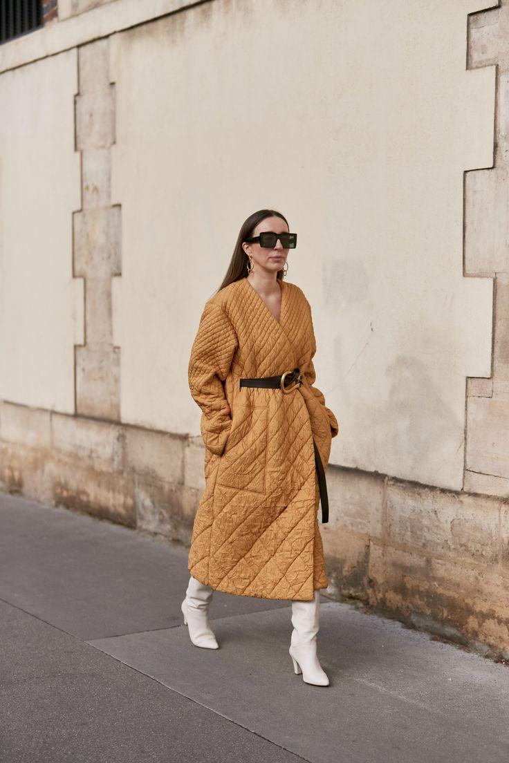 Куртки сезона осень-зима 2020/2021. Стёганое пальто, длинная куртка
