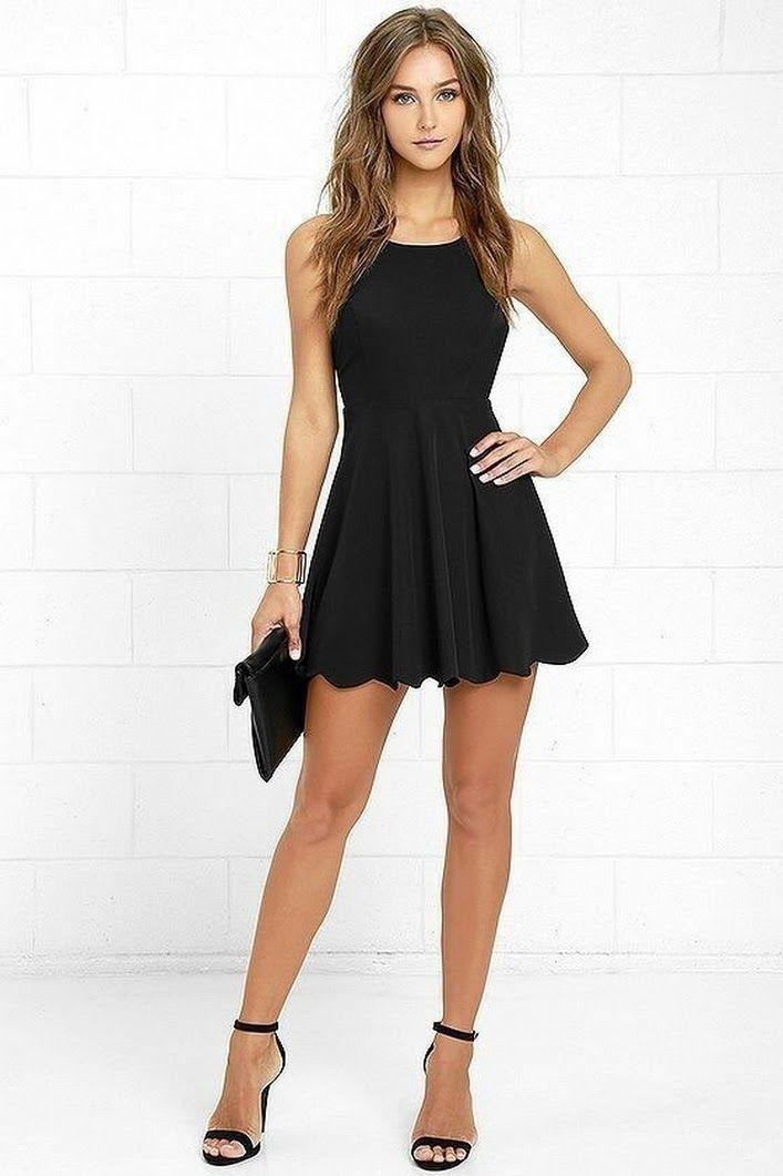 маленькое чёрное платье для девушки с любыми формами