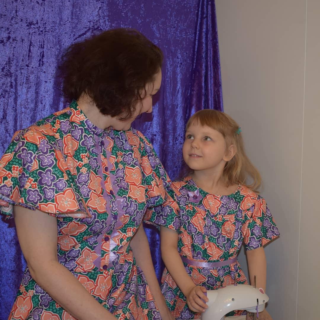Double dressing Мама и дочка. Индивидуальный пошив