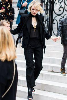 Кейт Бланшет в чёрном смокинге