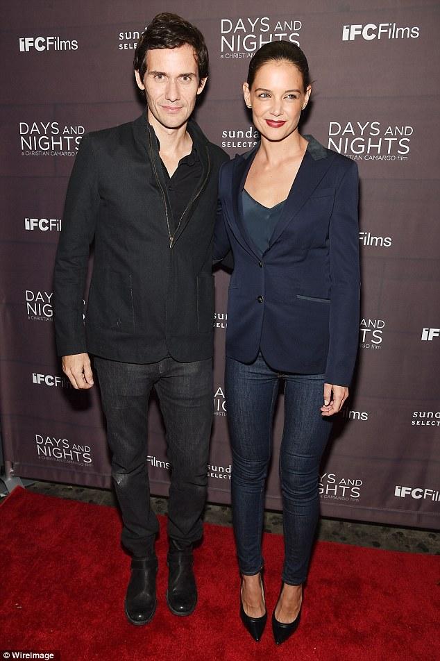 Christian Camargo и Katie Holmes (Кристиан Камарго и Кэти Холмс)