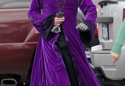 Мне всё фиолетово… Звезды которые выбрали фиолетовый цвет