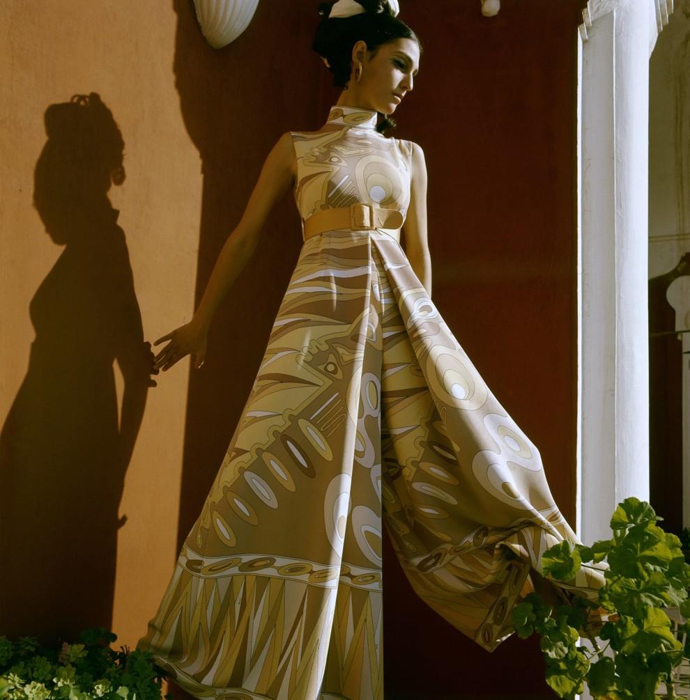 Брюки-палаццо - женственные и элегантные. Emilio Pucci