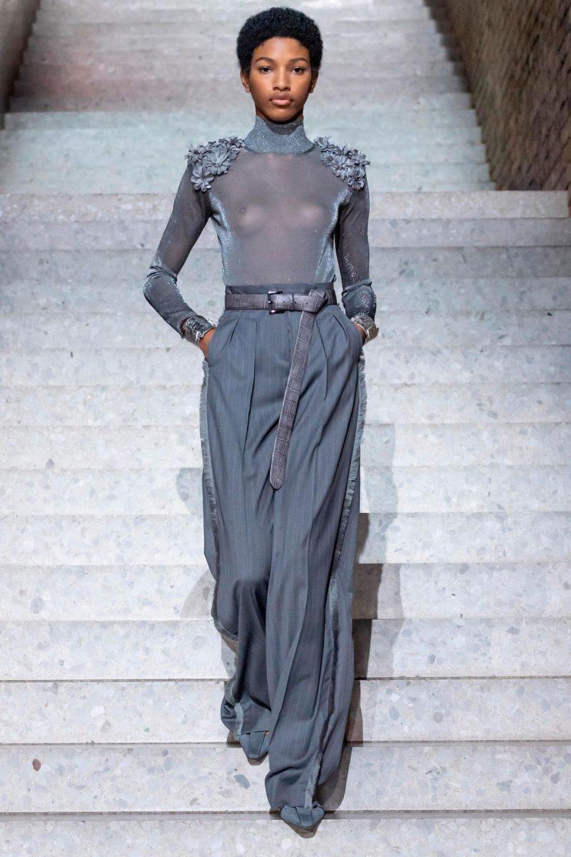 Брюки-палаццо - женственные и элегантные. Max Mara