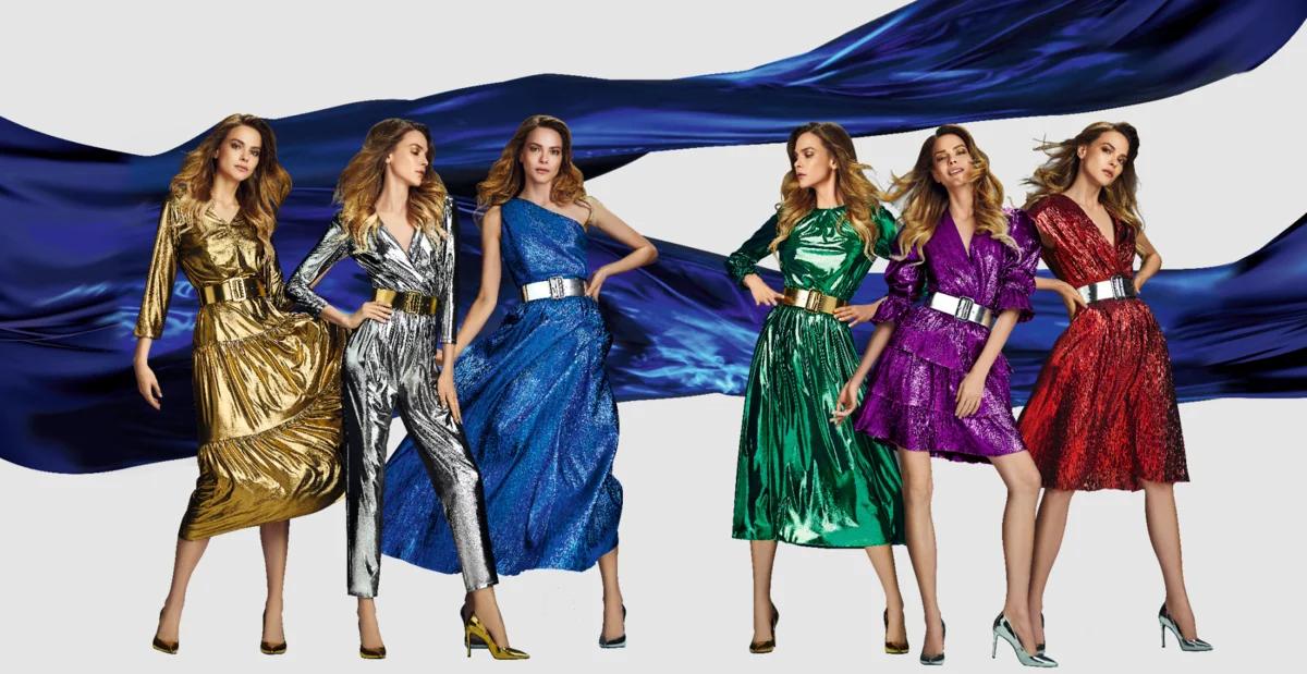 В чём встретить Новый год: платья для праздника металлического Быка
