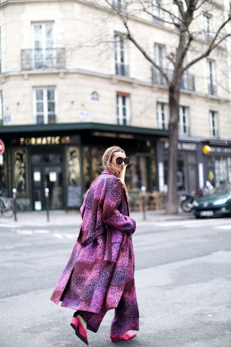 Фиолетовый Street Style