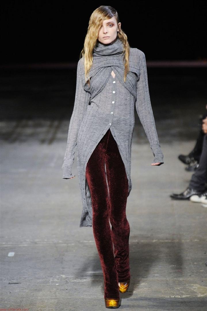 Трендовые бархатные брюки. Alexander Wang