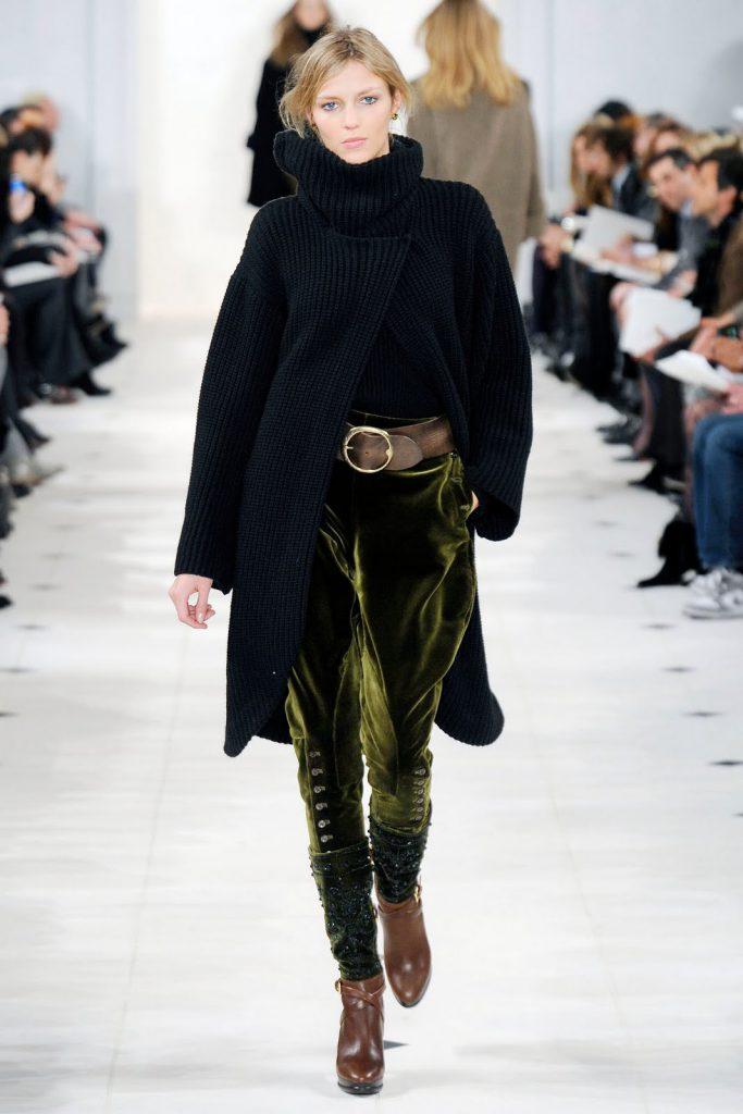 Трендовые бархатные брюки. Ralph Lauren