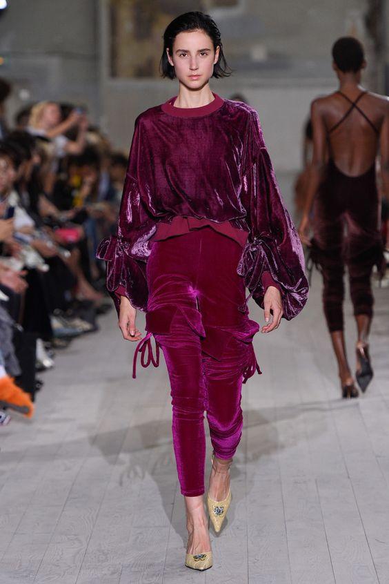 Трендовые бархатные брюки. Y/Project