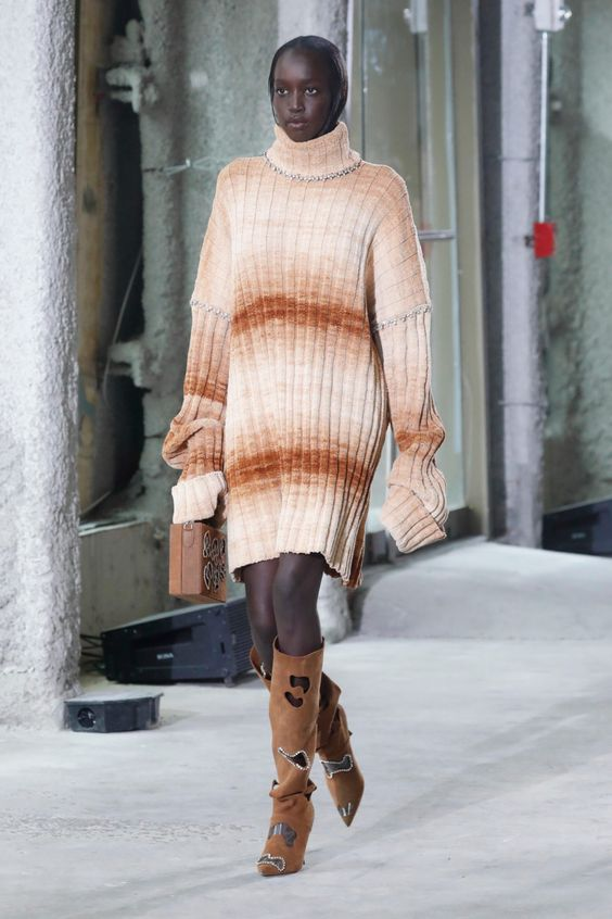 Платье-свитер от Area