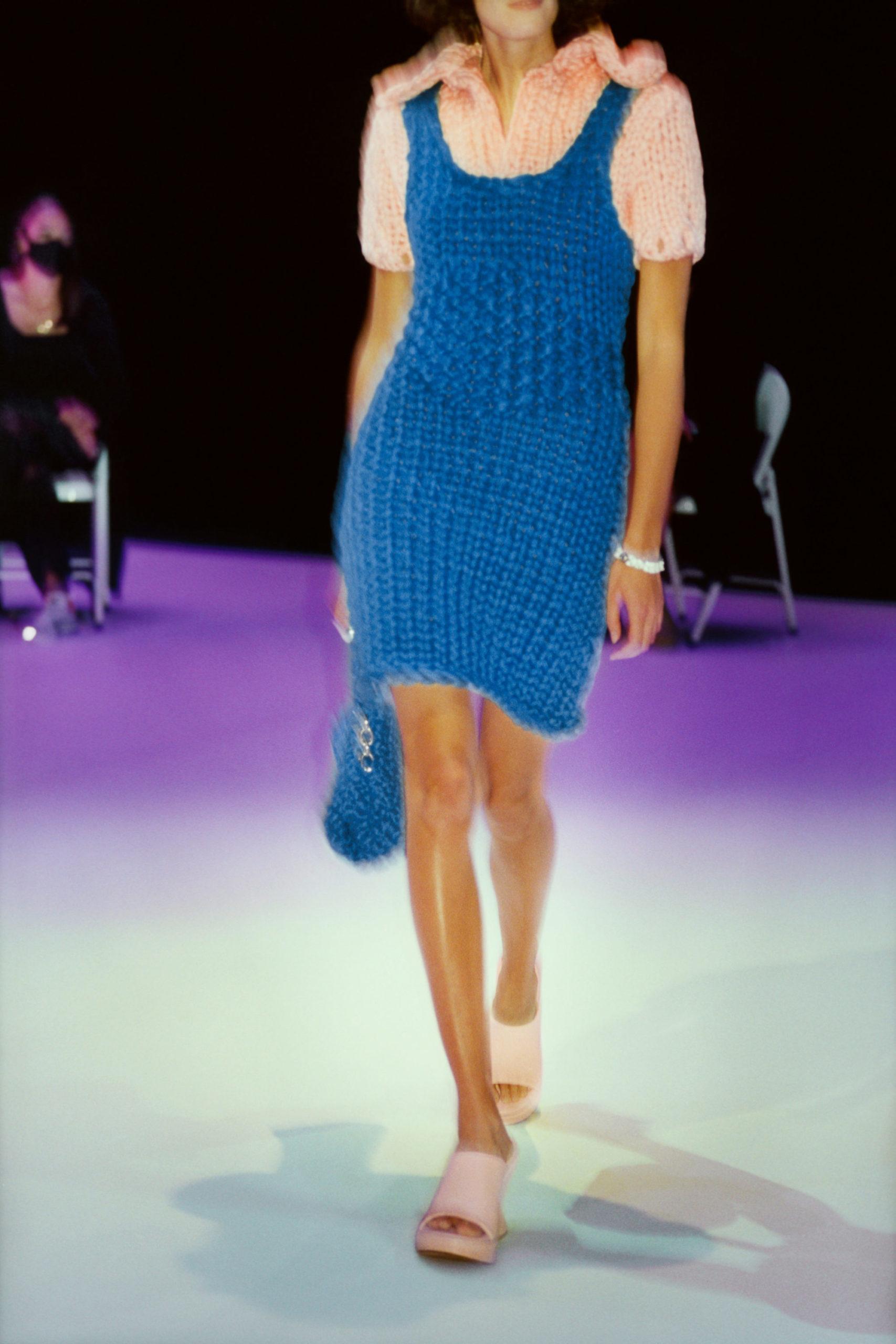 Платье-свитер от Bottega Veneta