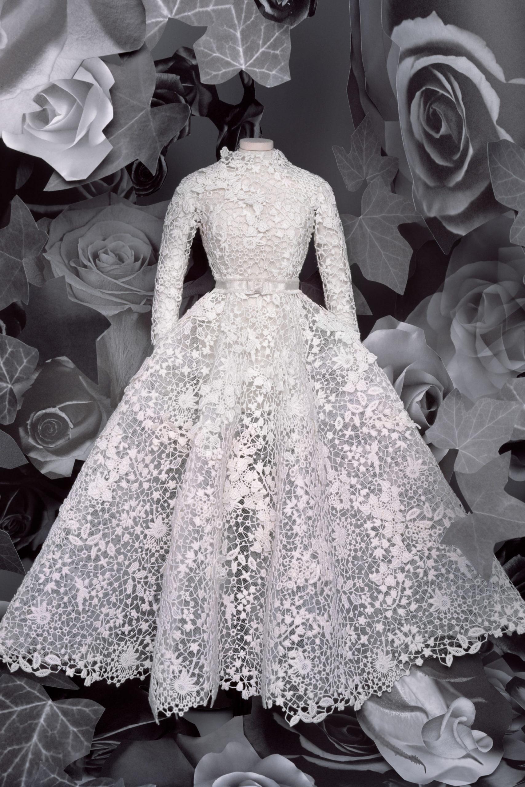 Christian Dior кутюр модель 2021 года