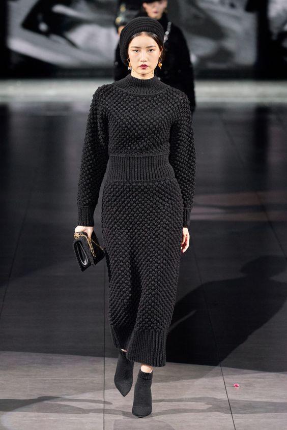 Платье-свитер от Dolce & Gabbana