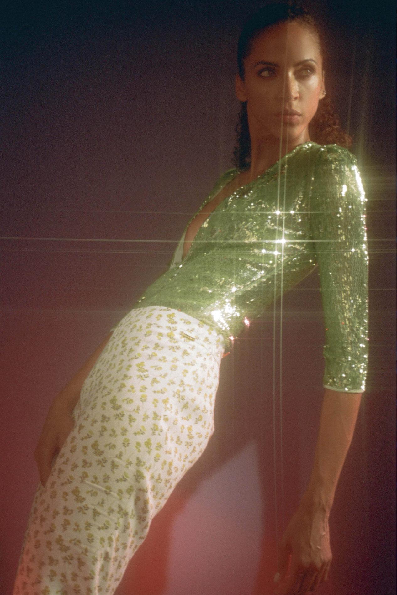 Ментоловый образ от Françoise Ready To Wear весна-лето 2021