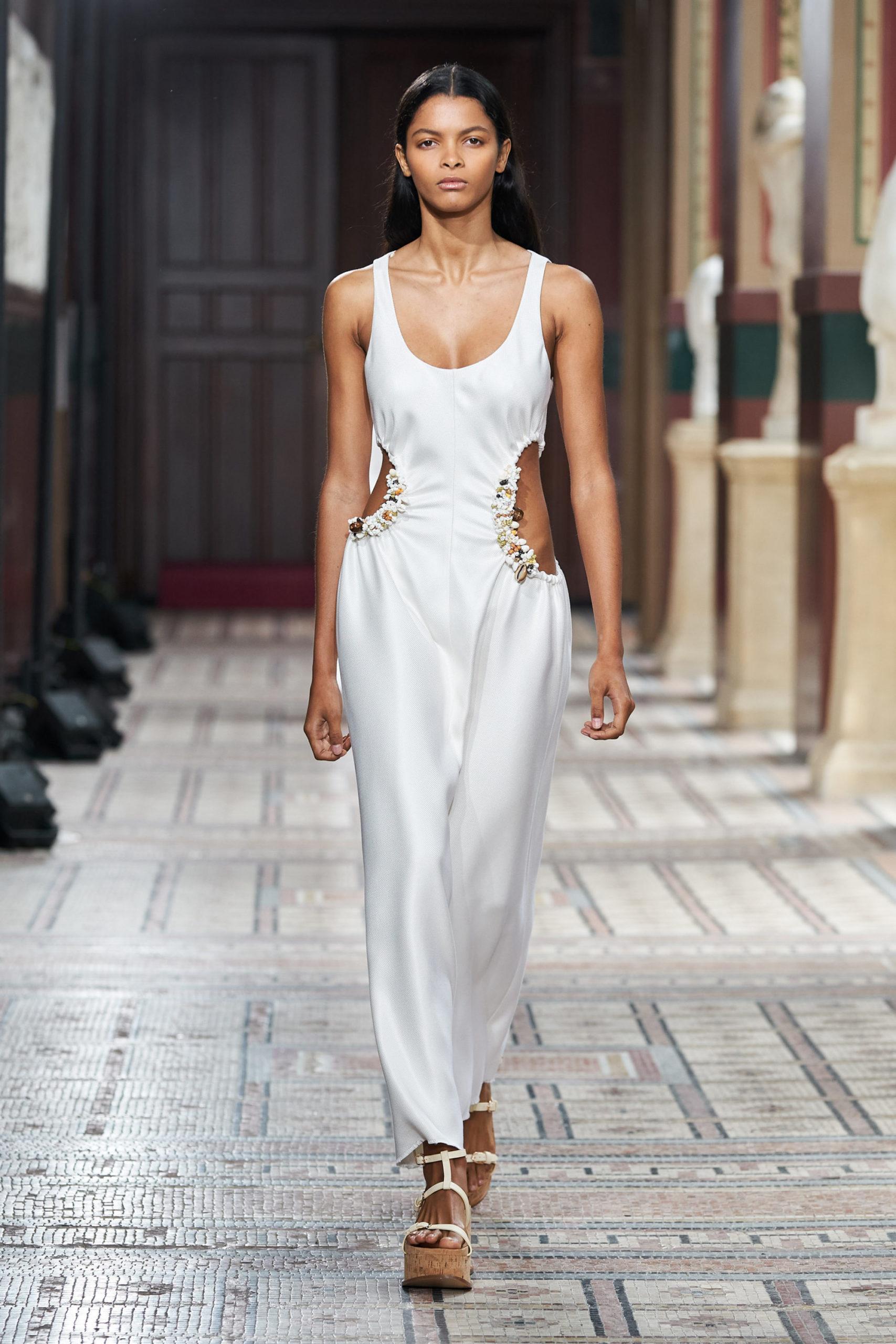 Платье с вырезом от Gabriela Hearst