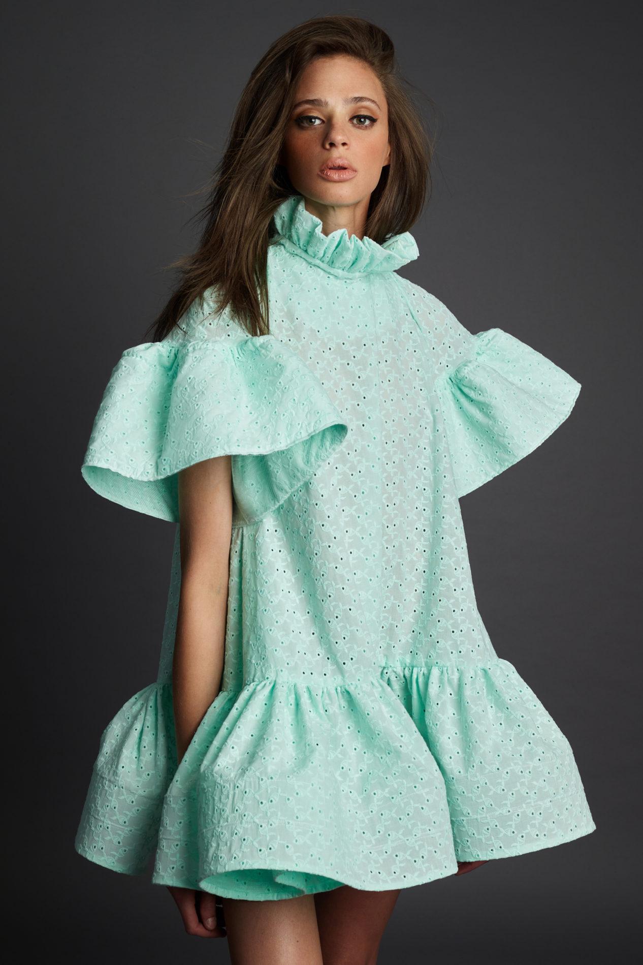 Ментоловый образ от Greta Constantine Ready To Wear весна-лето 2021