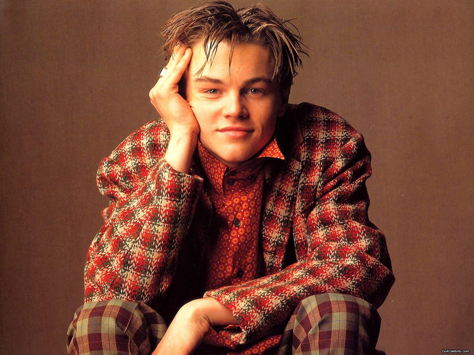 Leonardo DiCaprio в клетчатом луке