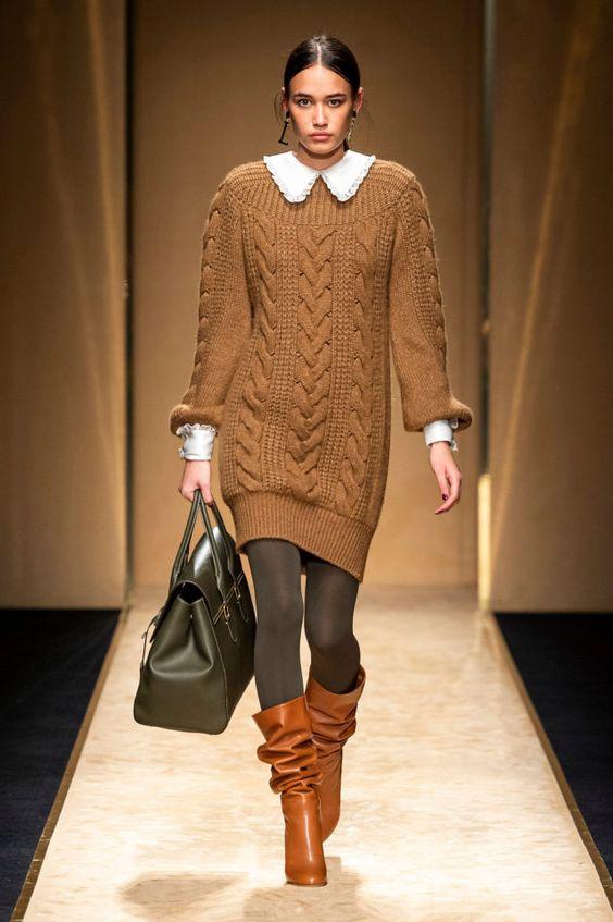 Платье-свитер от Luisa Spagnoli
