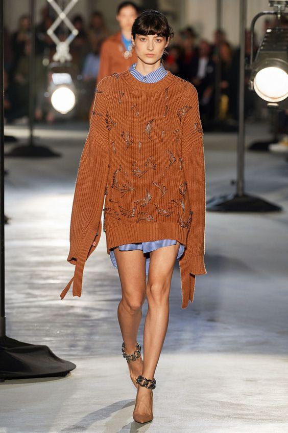 Платье-свитер от No. 21