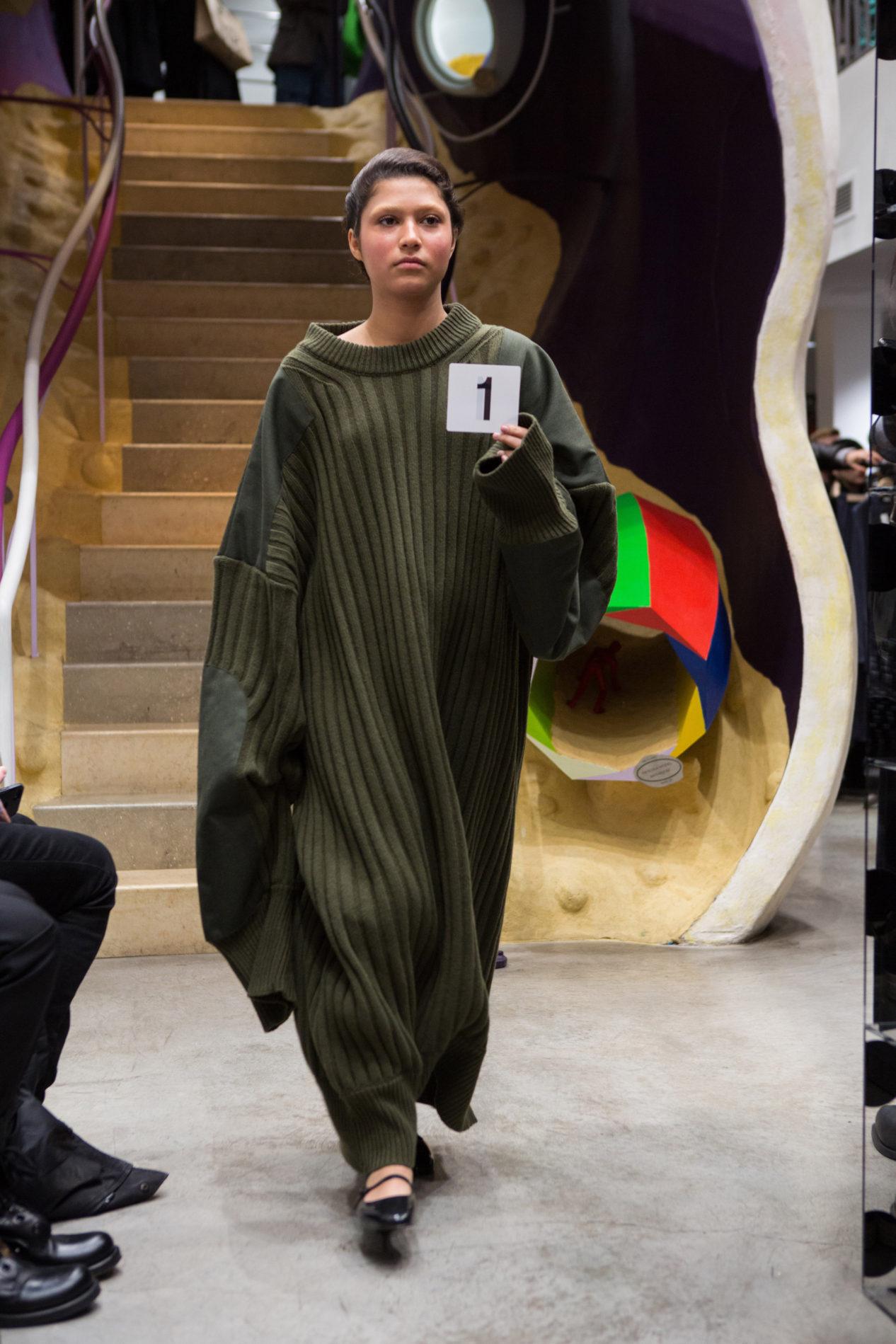 Платье-свитер от Vaquera