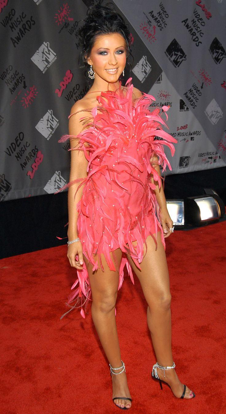 Кристина Агилера (Christina Aguilera) в платье с бахромой
