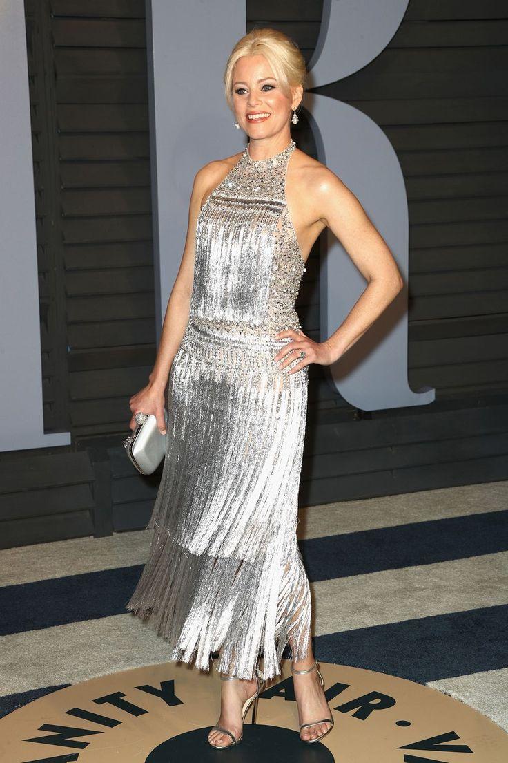 Элизабет Бэнкс (Elizabeth Banks) в платье с бахромой