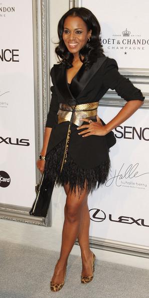 Керри Вашингтон (Kerry Washington) в платье с бахромой