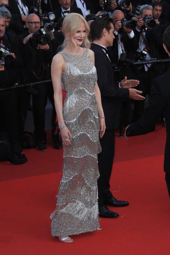 Николь Кидман (Nicole Kidman) в платье с бахромой от Michael Kors
