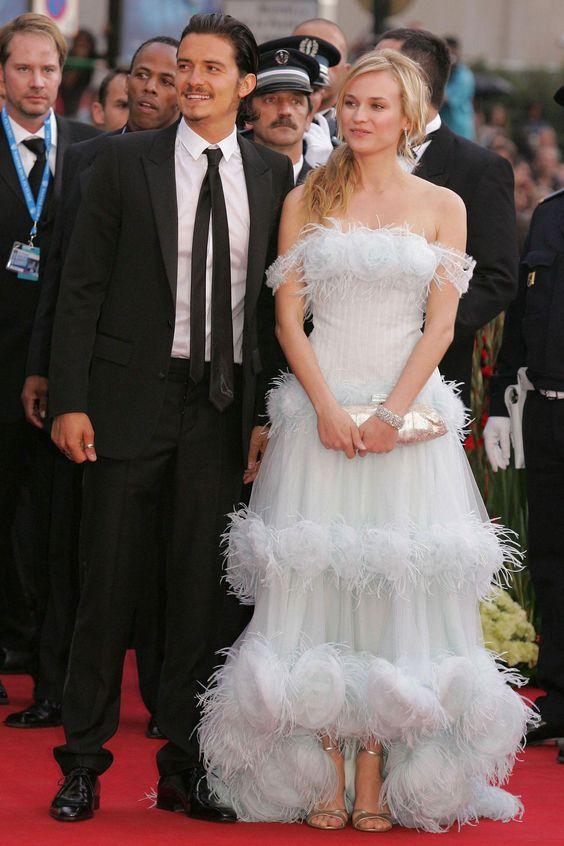 Дайан Крюгер (Diane Kruger) в платье с бахромой
