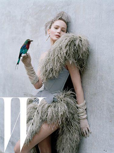 Дженнифер Лоуренс (Jennifer Lawrence) в платье с бахромой