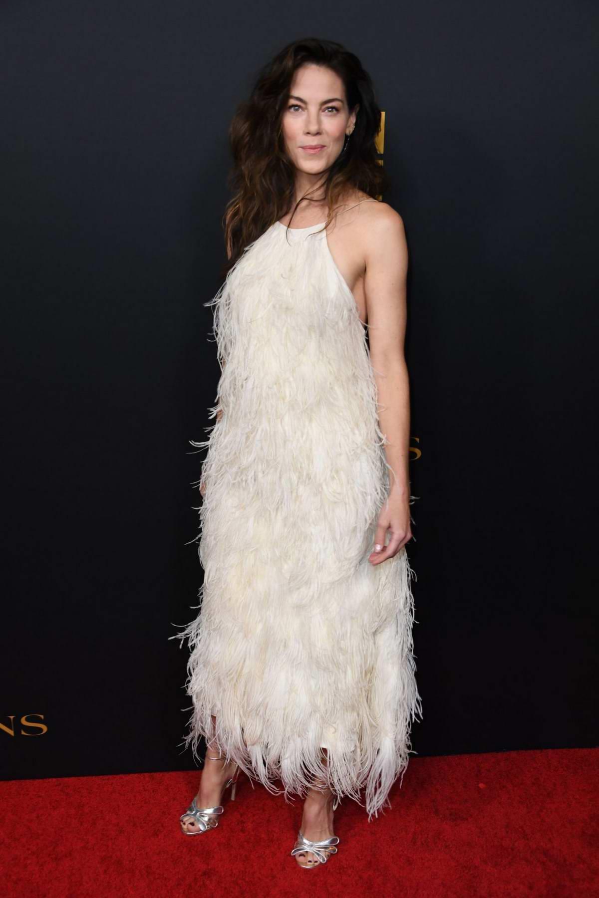Мишель Монахэн (Michelle Monaghan) в платье с бахромой