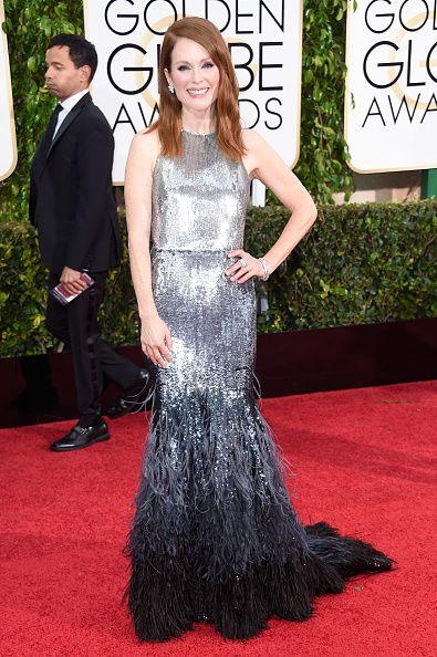 Джулианна Мур (Julianne Moore) в платье с бахромой от Givenchy