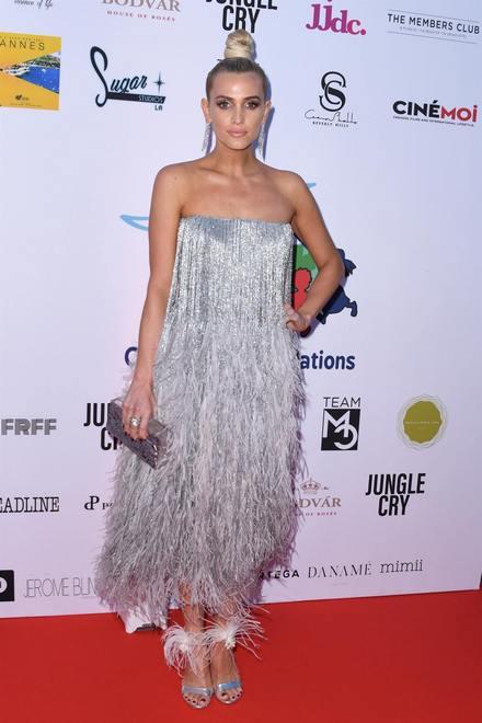 Эшли Симпсон (Ashlee Simpson) в платье с бахромой