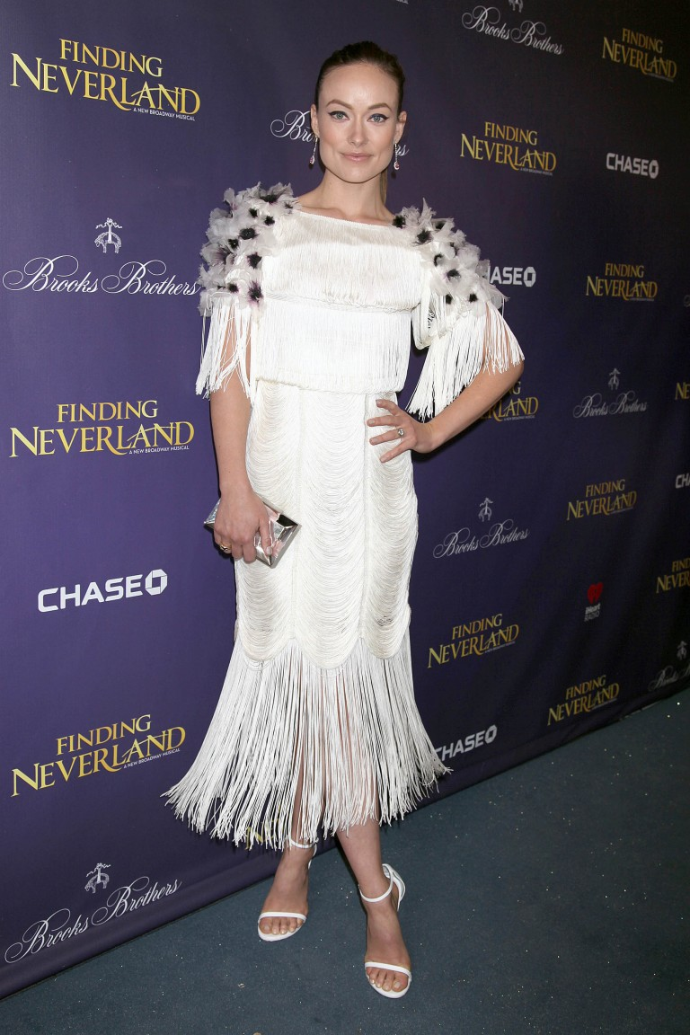 Оливия Уайлд (Olivia Wilde) в платье с бахромой