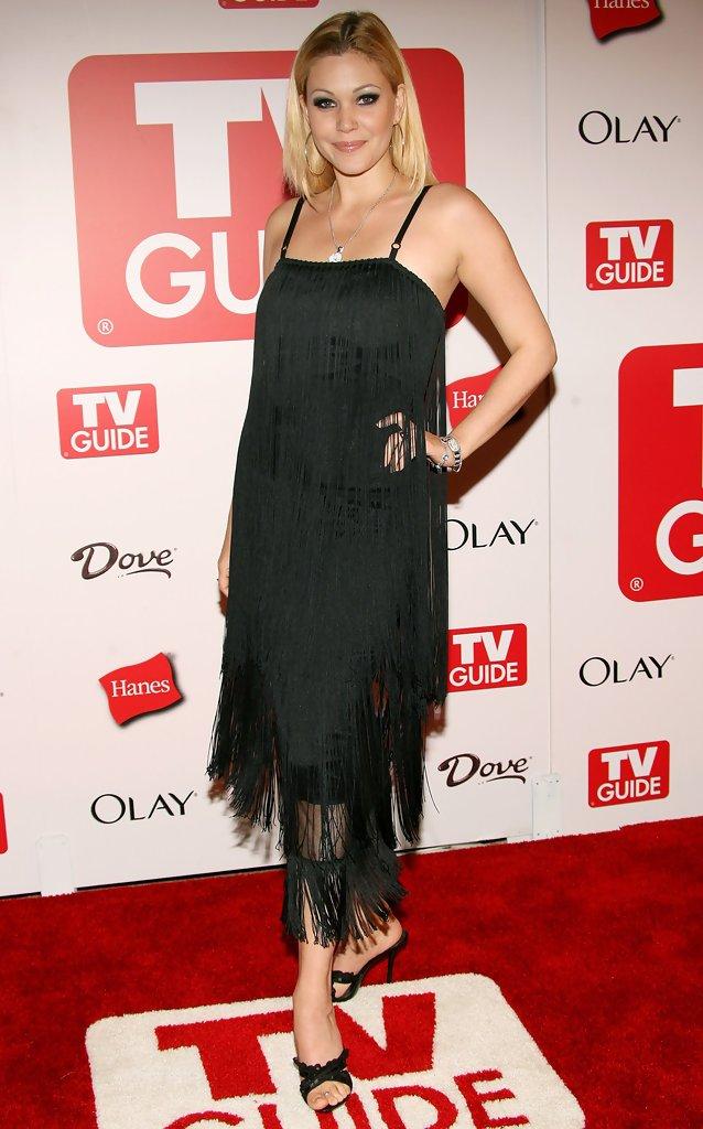 Shanna Moakler (Shanna Moakler) в платье с бахромой