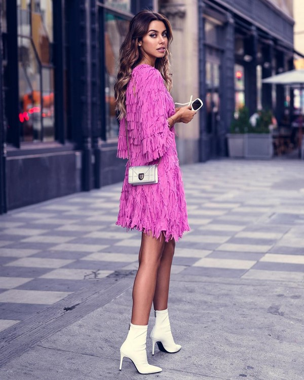Street Style - платье с бахромой