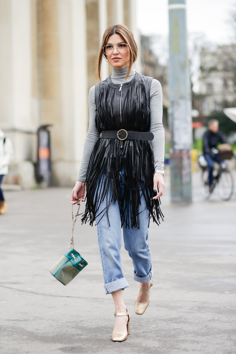 Street Style - одежда с бахромой