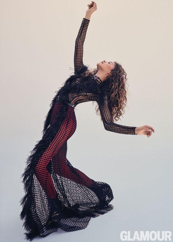 Zendaya (Зендая) в платье с бахромой от David Koma